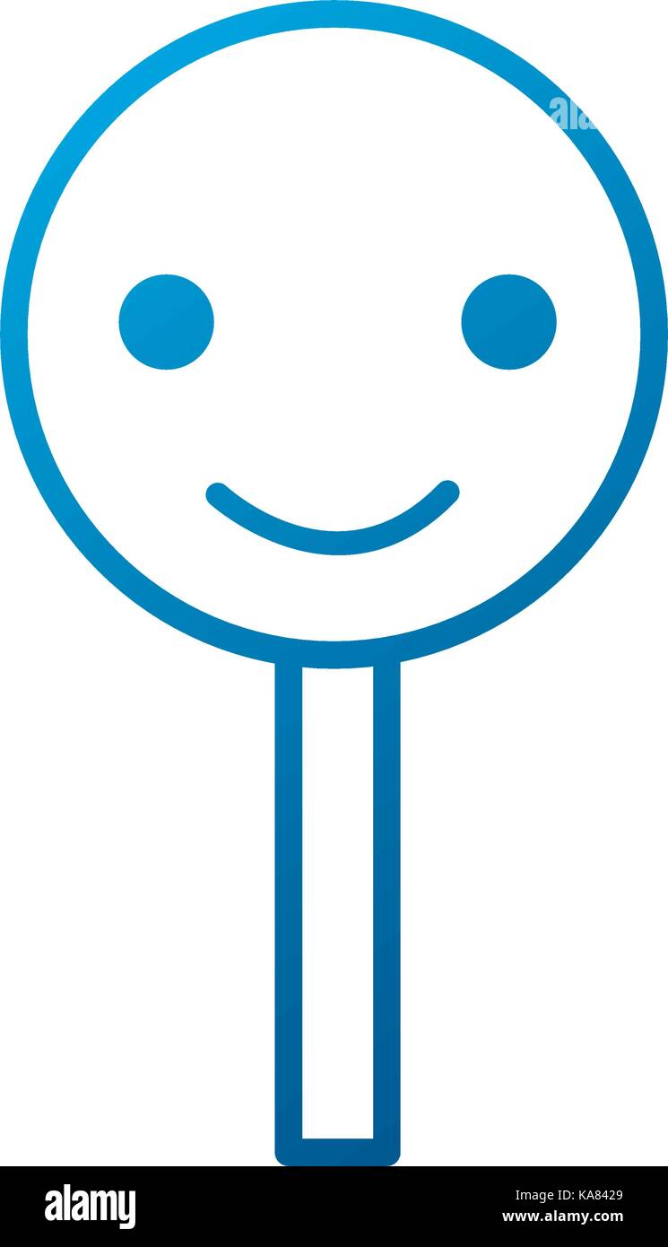 smile rating customer service happy - Stock Vector