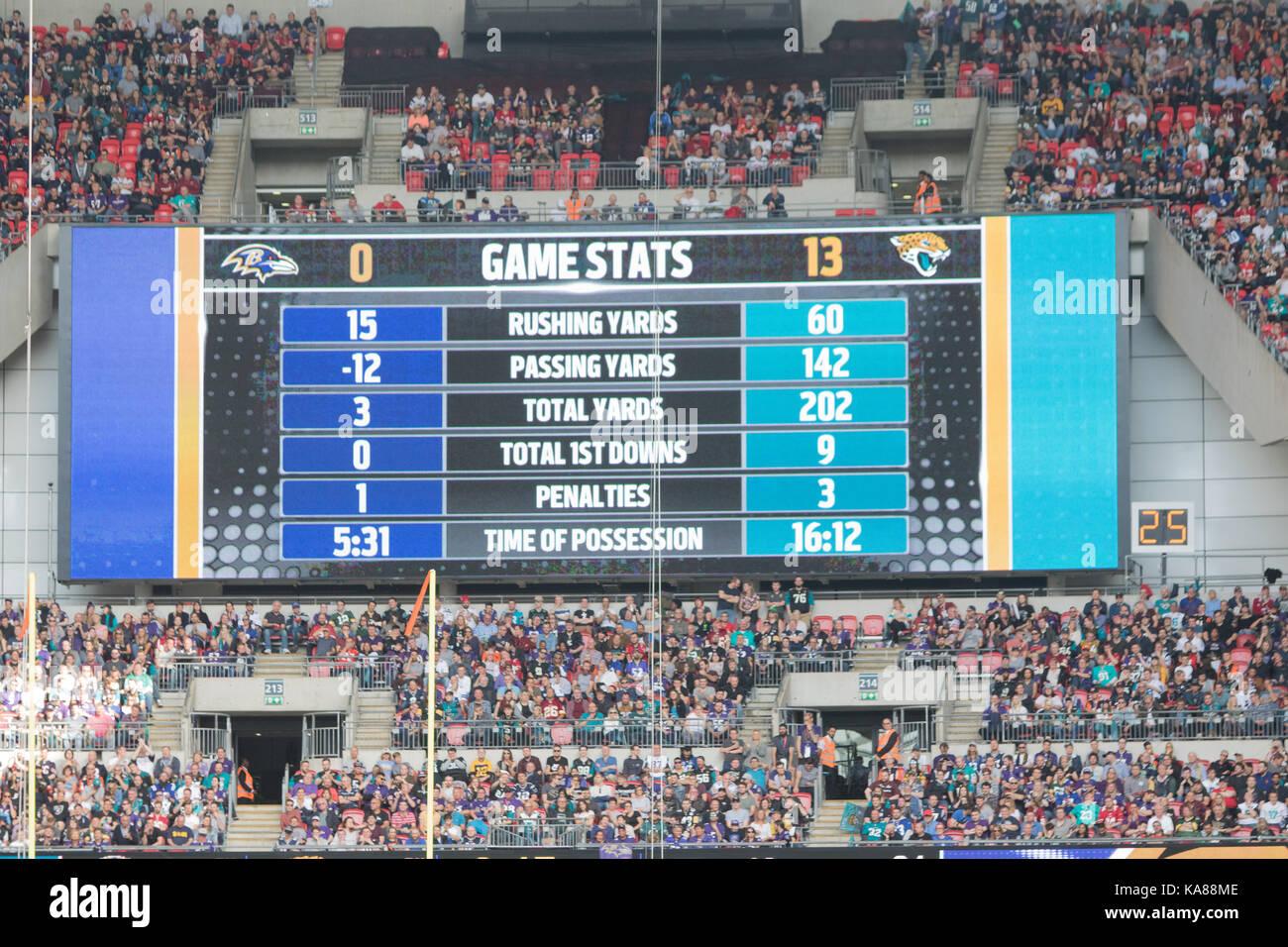 Wembley Stadium, London, England;