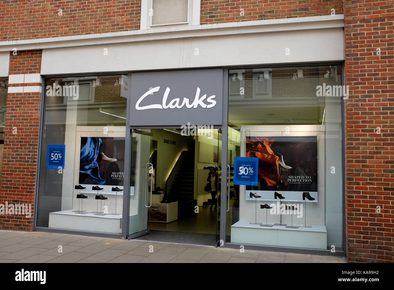 Shoe Shops In Canterbury Town Centre