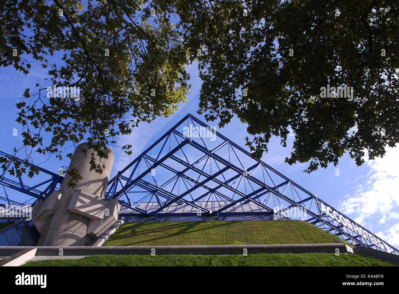 General view of Bercy Arena, Paris, France - Stock Image