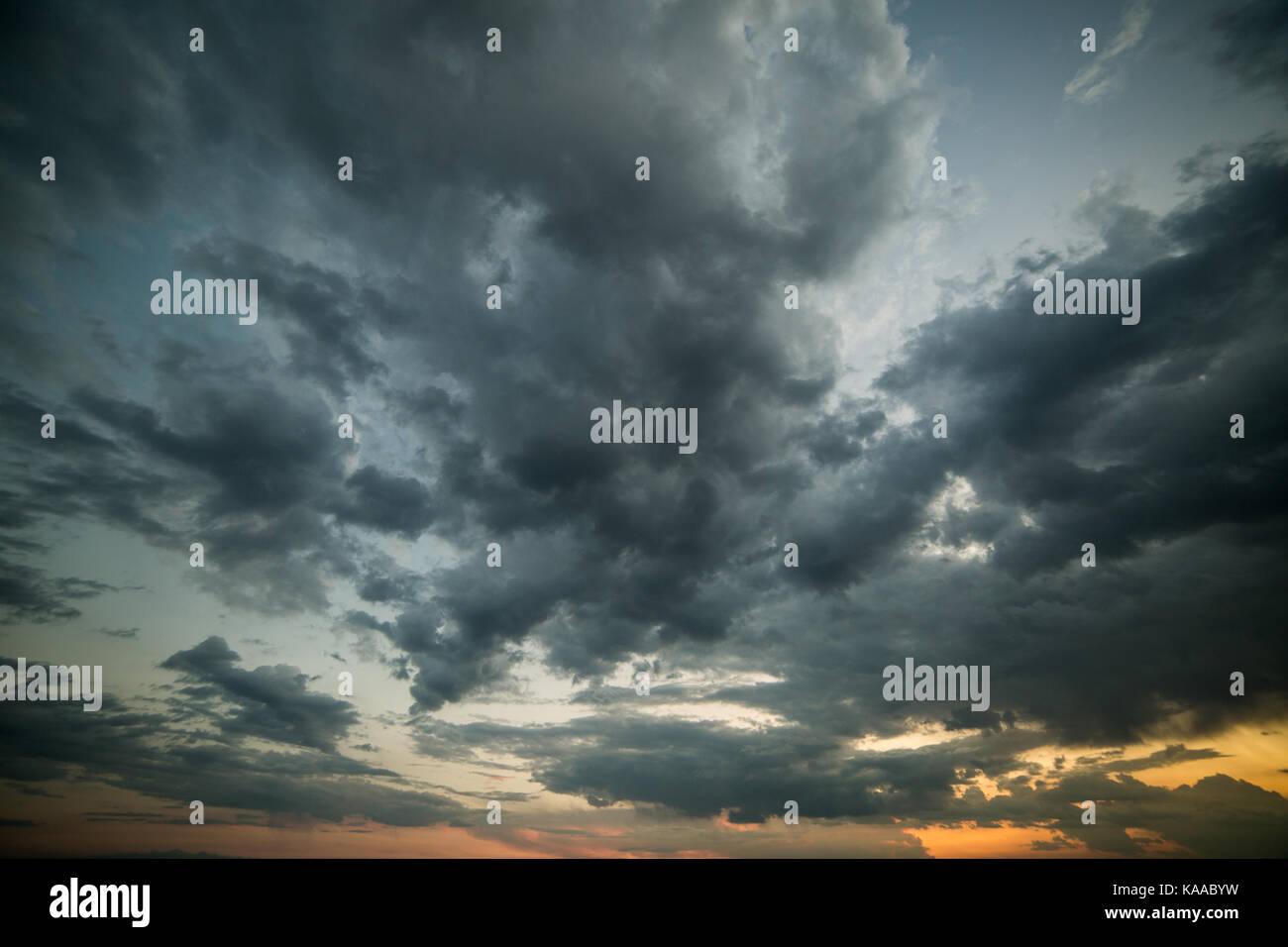 Dramatic cloudy sky background overlay at sunset stock photo dramatic cloudy sky background overlay at sunset thecheapjerseys Gallery