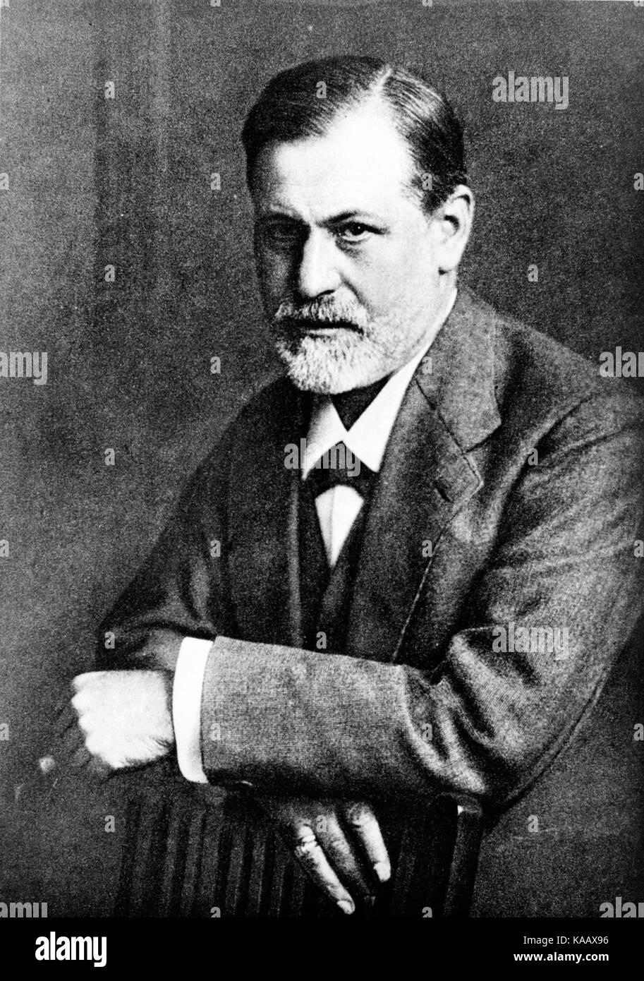 Sigmund Freud by Max Halberstadt 1909 cph.3c33801 - Stock Image