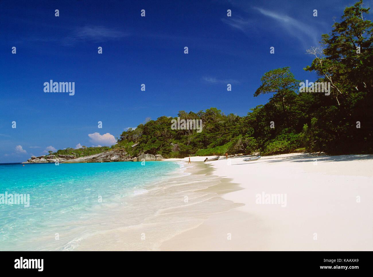 Thailand. Similan Islands. Beach. - Stock Image