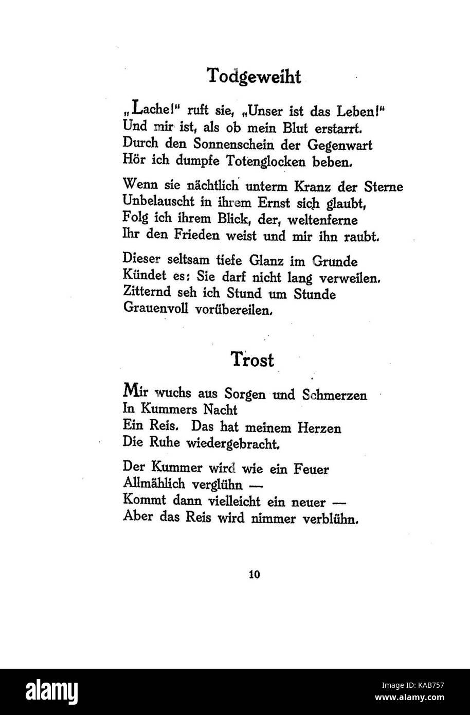 Gedicht stern frieden