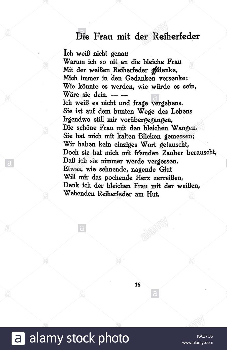 Gedicht natur ringelnatz