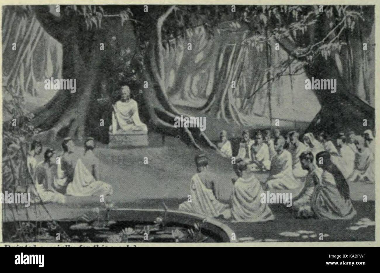 The last days of buddha teachings - Stock Image