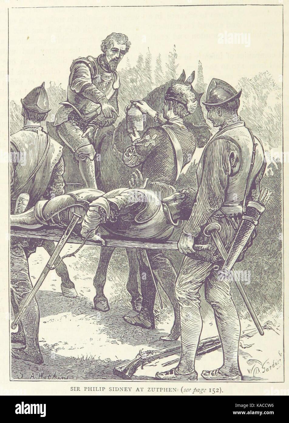 Sir Philip Sidney at Zutphen - Stock Image