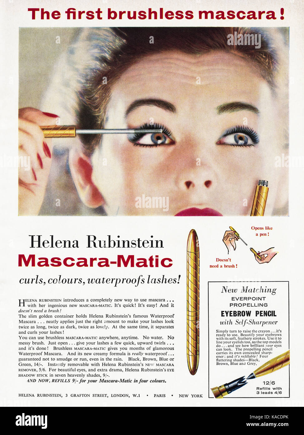 cosmetic adverts