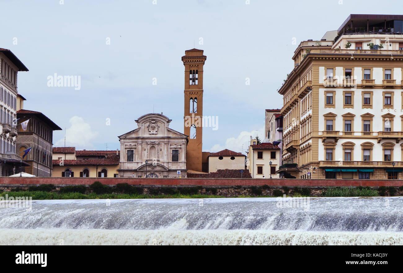 Pescaia Santa Rosa Florence Italy Stock Photo