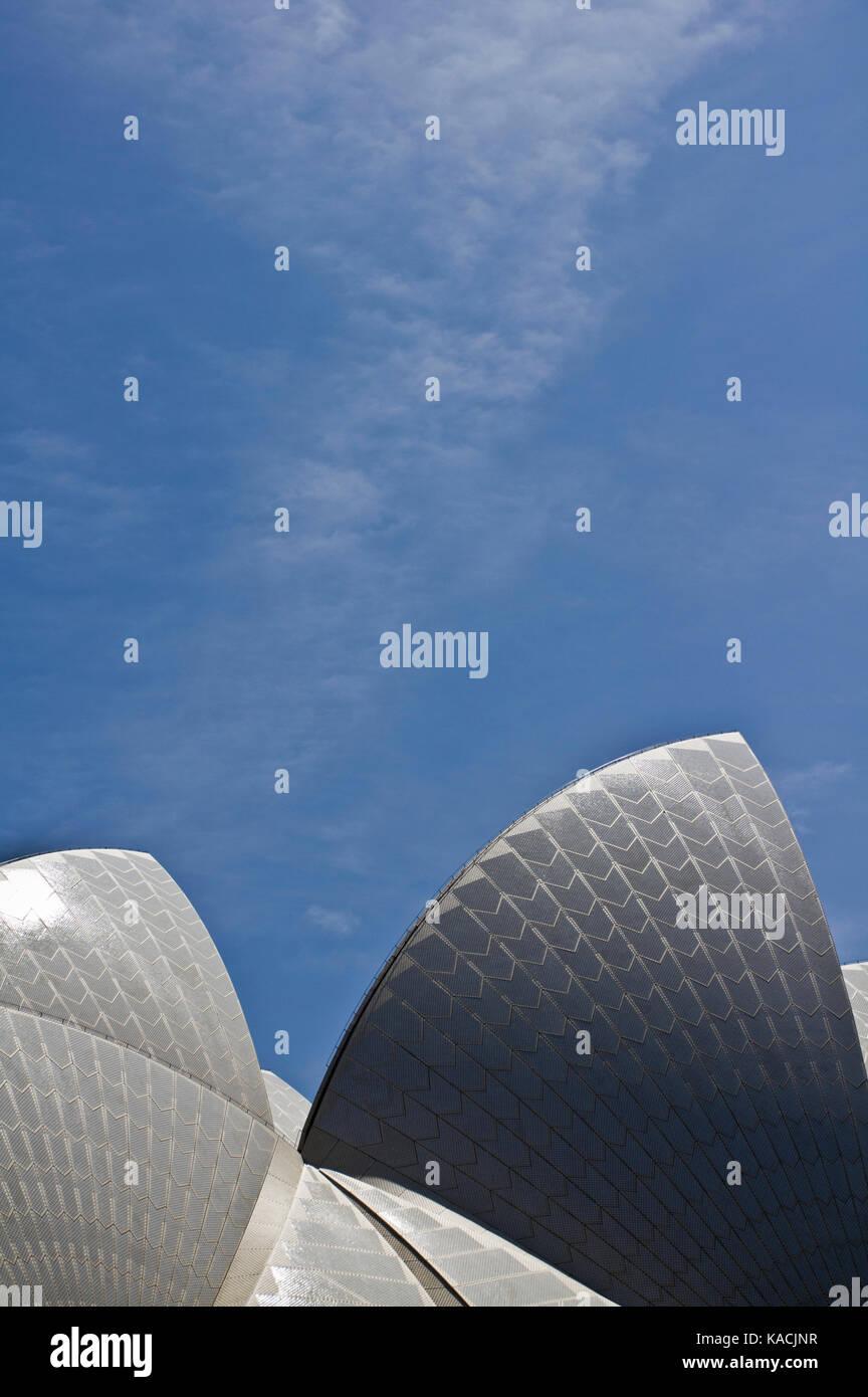Sydney Opera House detail - Stock Image