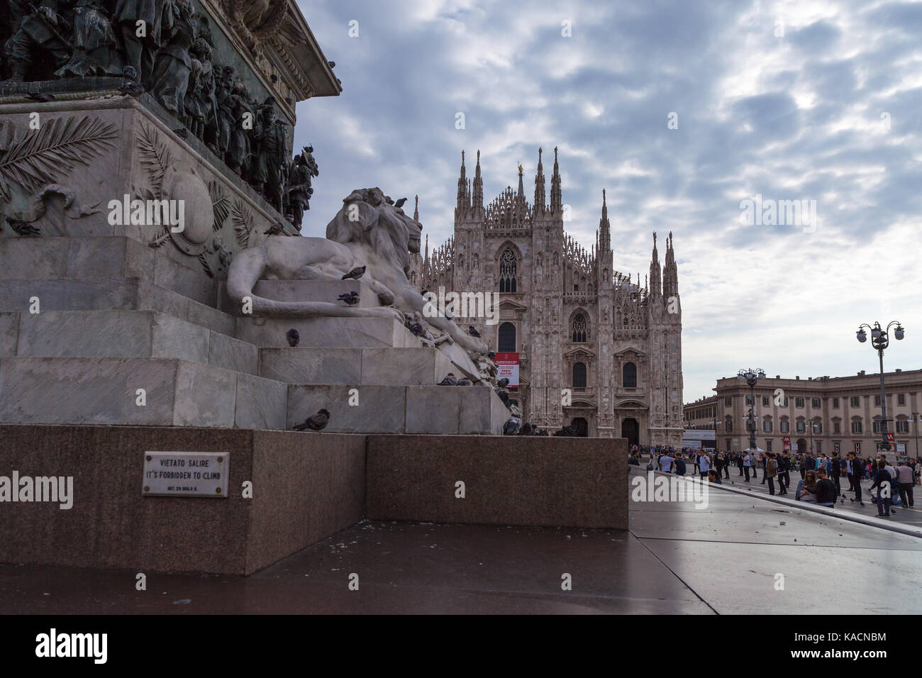 2017 September 25th -  Milano XL, installation for the Italian creativity feast during the fashion week 2017 - Stock Image