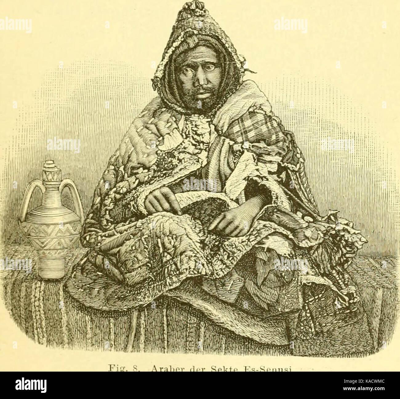 'Timbuktu; Reise durch Marokko, die Sahara und den Sudan, ausgeführt im Auftrage der Afrikanischen Gesellschaft - Stock Image