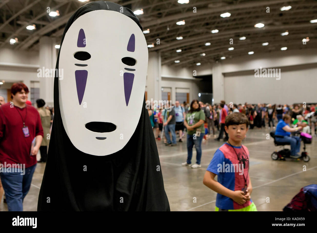 Cosplayers at Awesome Con 2017 - Washington, DC USA Stock Photo