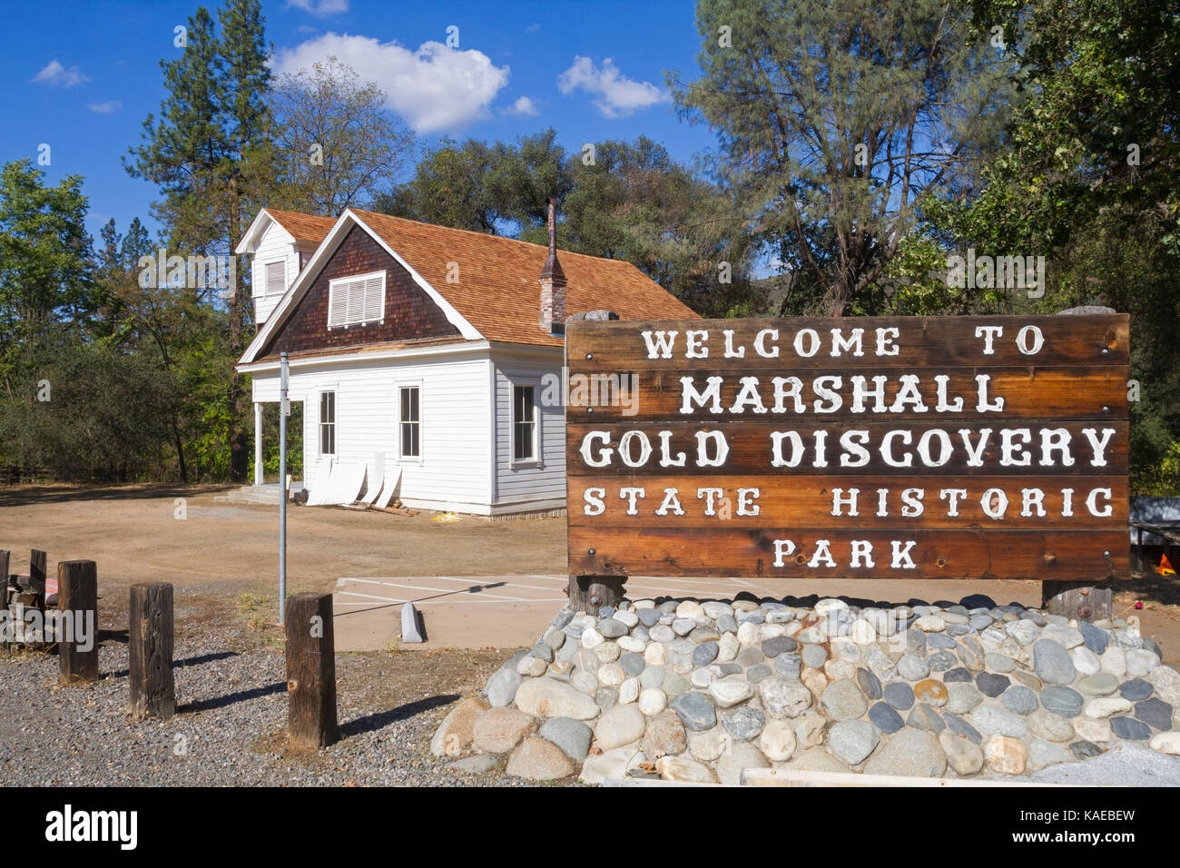 USA, California, Coloma,  Marshall Gold Discovery State Historic Park - Stock Image