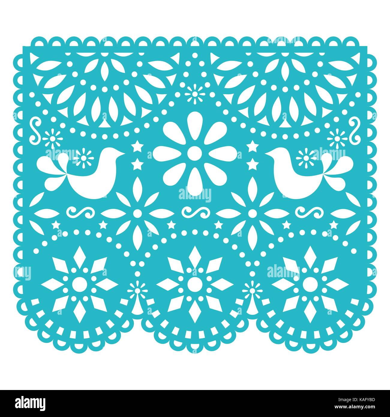 Papel picado vector template design mexican paper decorations with papel picado vector template design mexican paper decorations with birds and flowers traditional fiesta banner in turquoise traditional banner mightylinksfo
