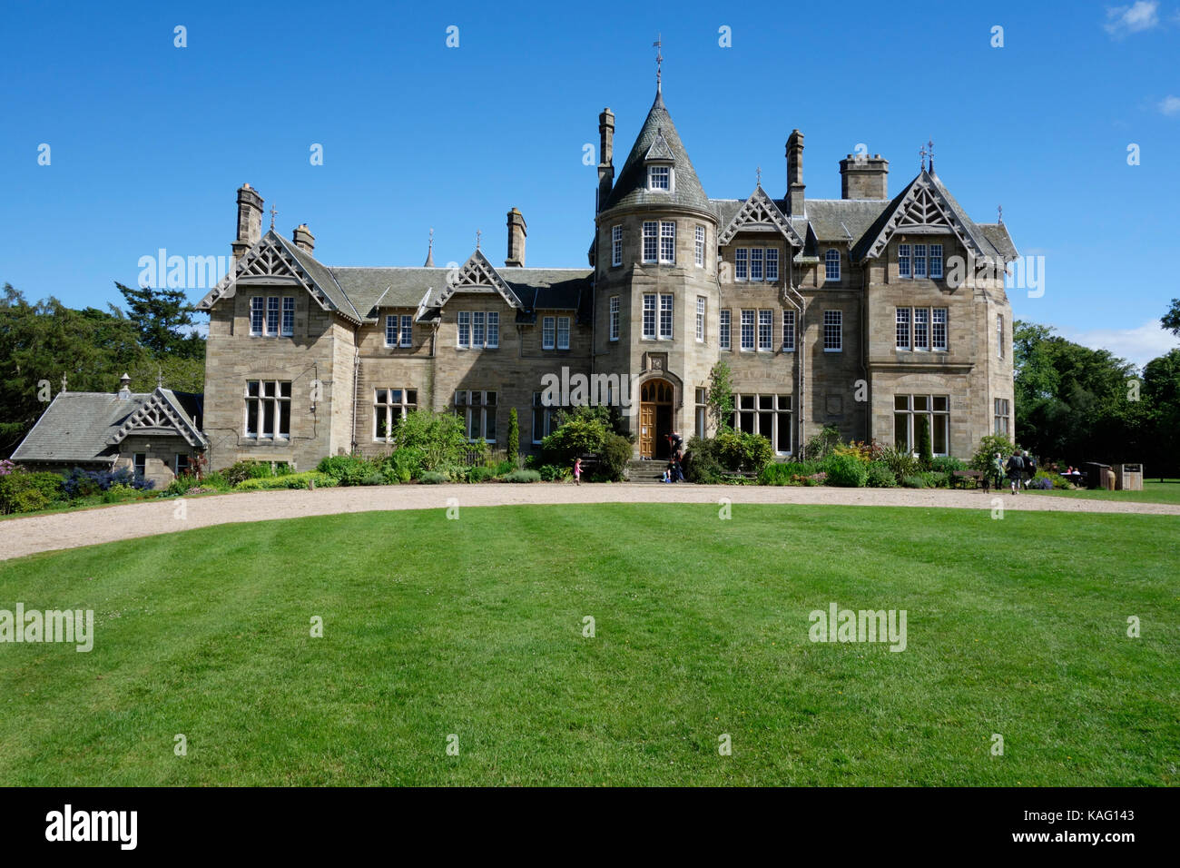 Vogrie House at Vogrie Country Park - Stock Image