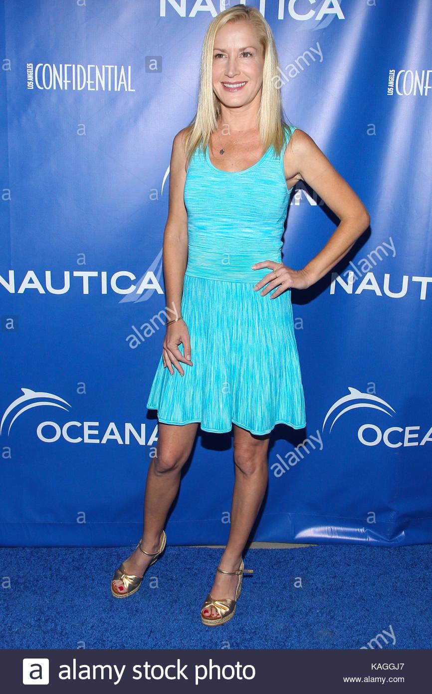 Angela Kinsey. Celebrities attend the 2nd Annual Nautica Oceana ...