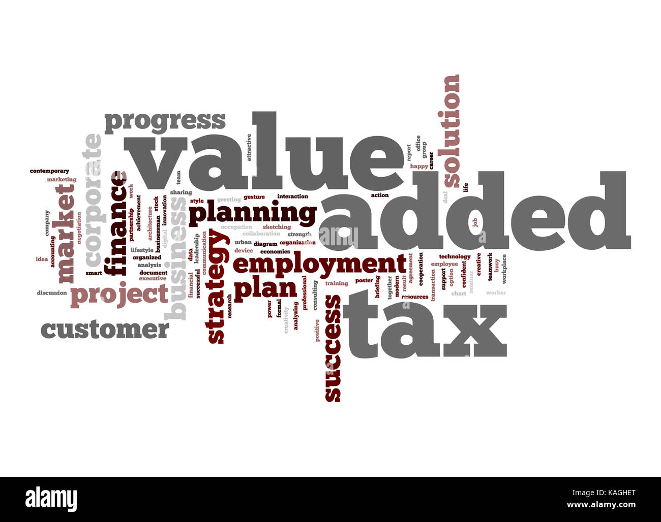 Value Added Tax Word Cloud Stock Photo 161404848 Alamy