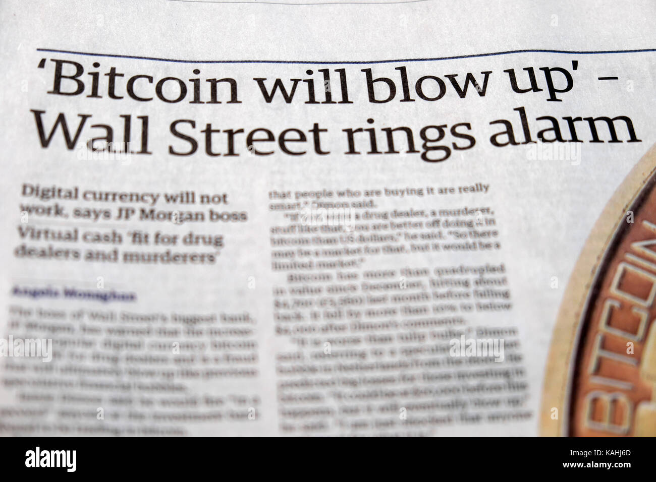Bitcoin will blow up wall street rings alarm guardian newspaper bitcoin will blow up wall street rings alarm guardian newspaper article 14 september 2017 ccuart Images