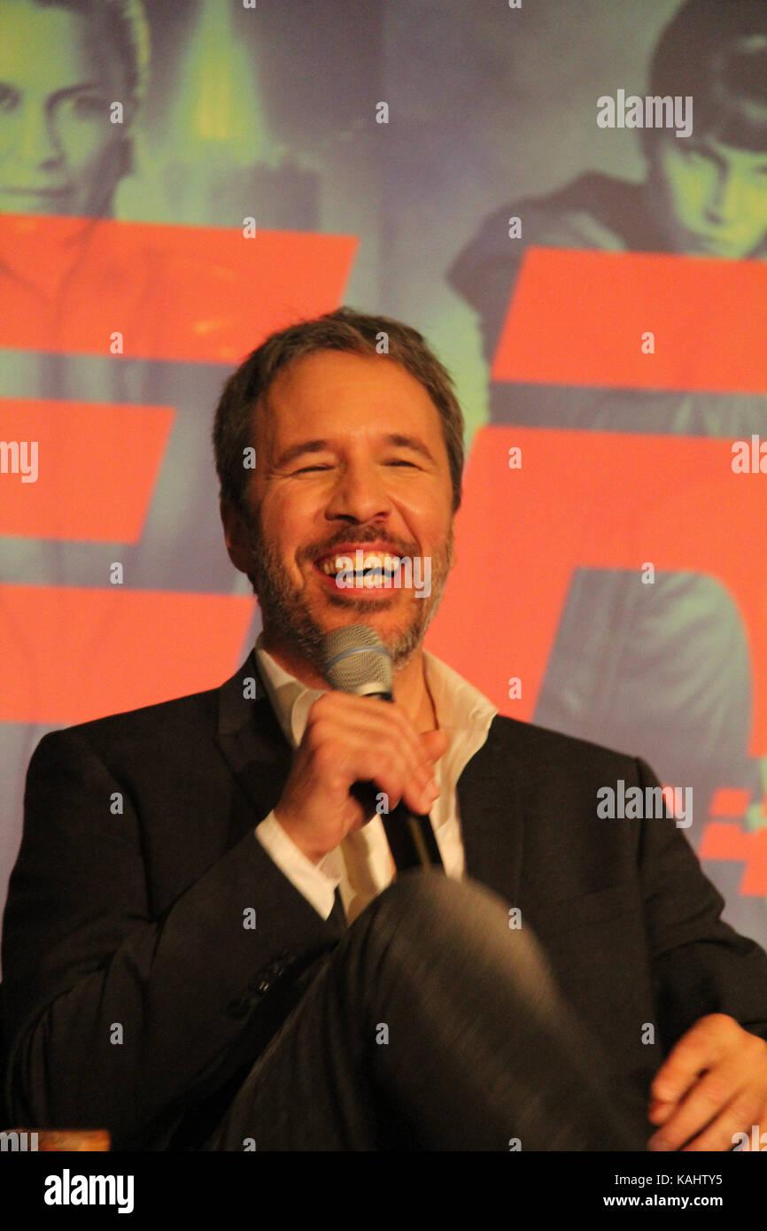 Denis Villeneuve  09/24/2017 'Blade Runner 2049' Press Conference held at JW Marriott Los Angeles L.A. LIVE - Stock Image