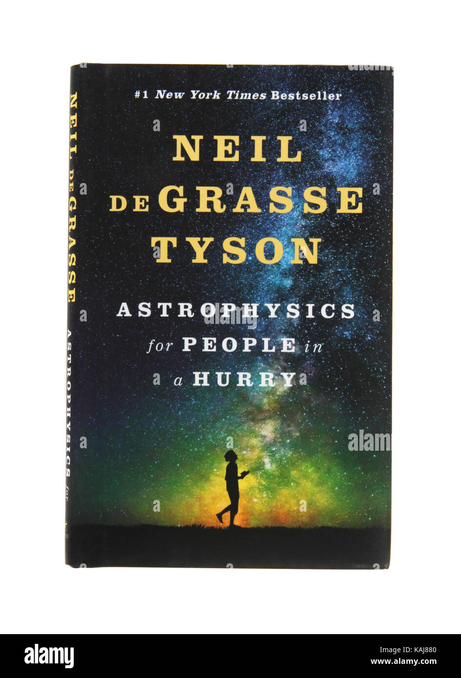 The book Astrophysics for People in a Hurry by Neil DeGrasse Tyson - Stock Image