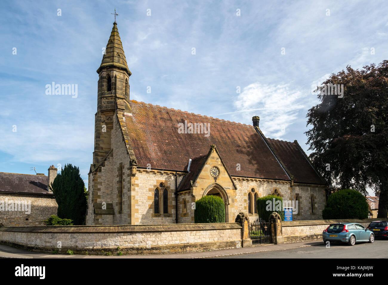 St Saviour's Church, Harome, North Yorkshire - Stock Image