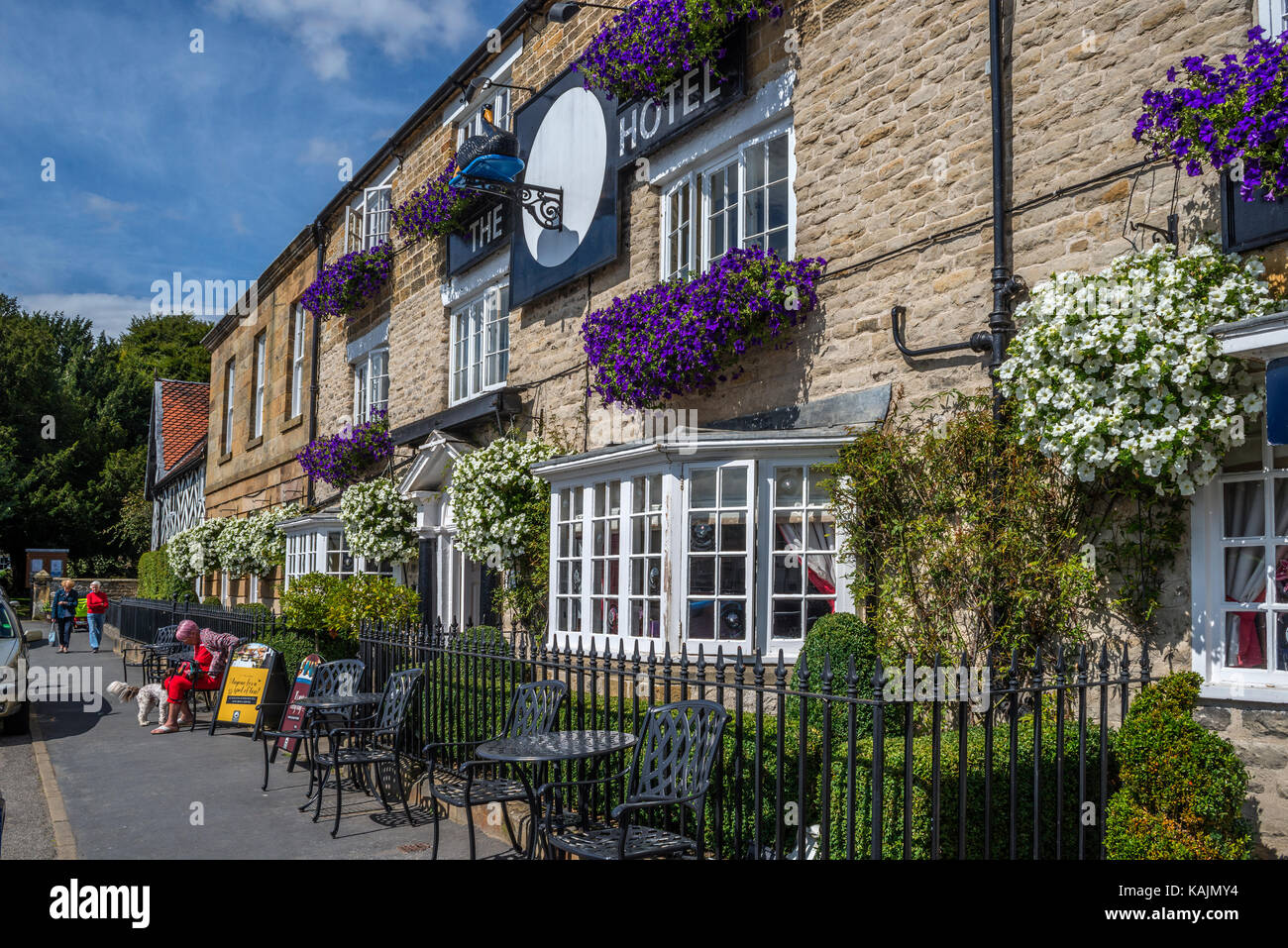 The Black Swan Hotel, Helmsley, North Yorkshire - Stock Image