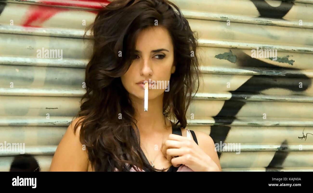 VICKY CRISTINA BARCELONA 2008 MGM film with Penelope Cruz - Stock Image