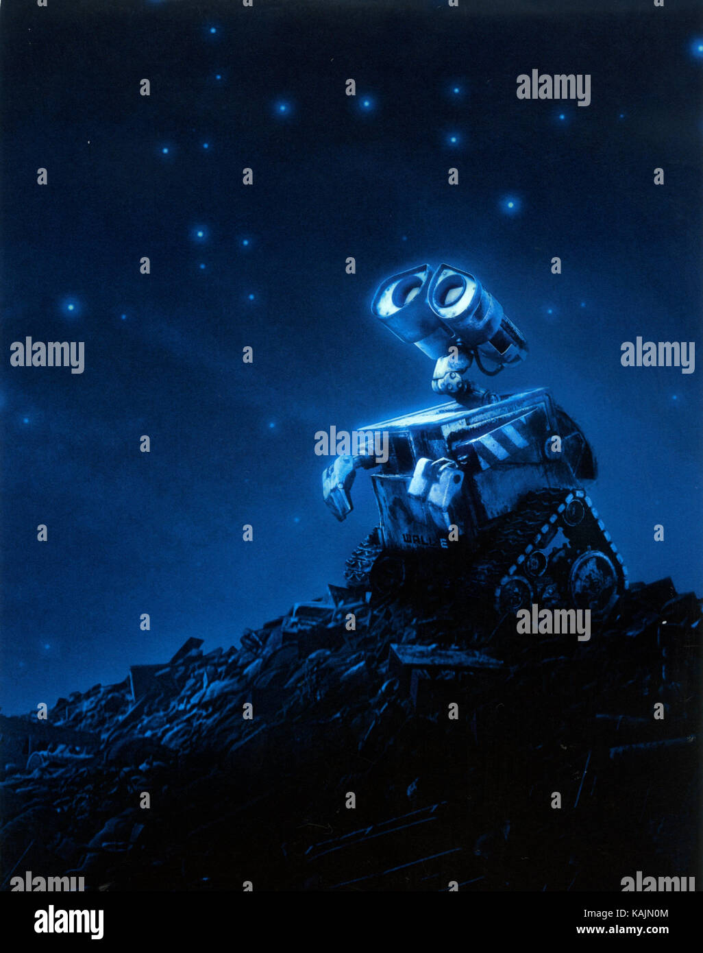 WALL-E  2008 Walt Disney Pictures computer-animation film - Stock Image