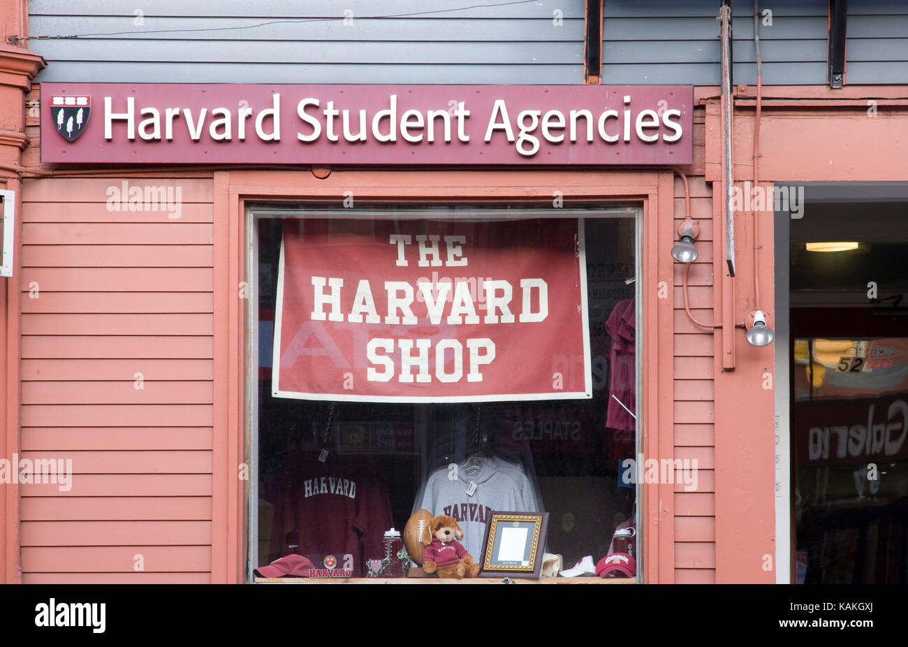 Harvard Student Agencies - Stock Image