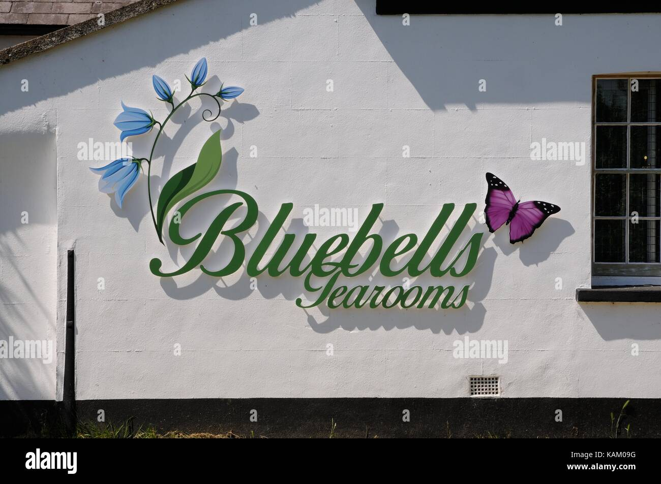 Bluebells Tearooms, Marsworth, Buckinghamshire Stock Photo