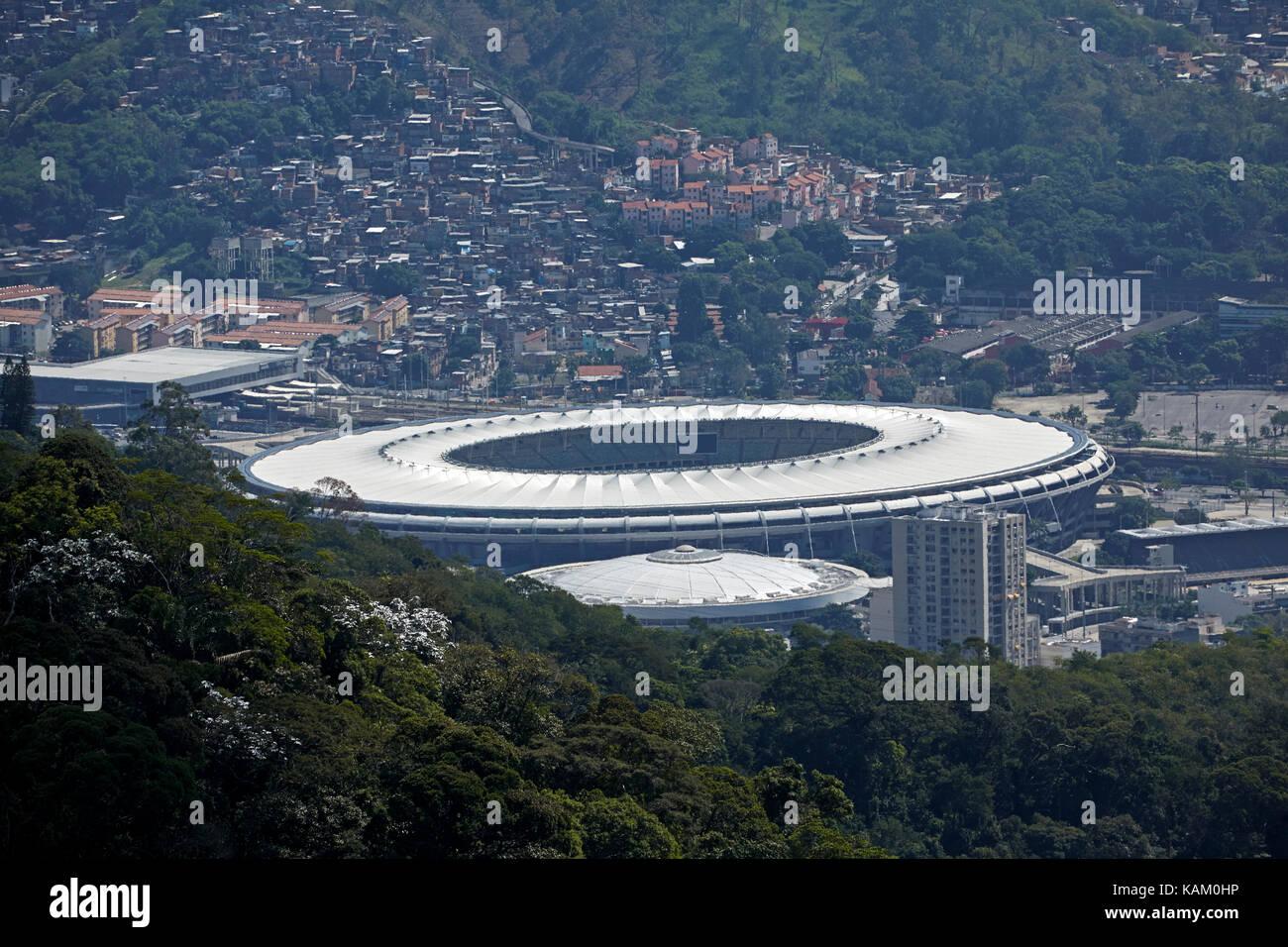 Maracanã Stadium, Rio de Janeiro, Brazil, South America - Stock Image