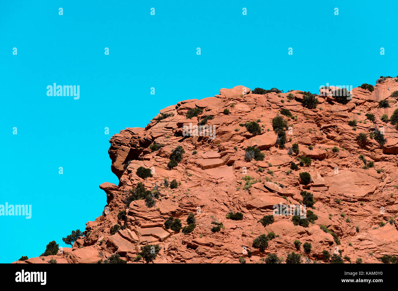 Rocky Cliff - Stock Image