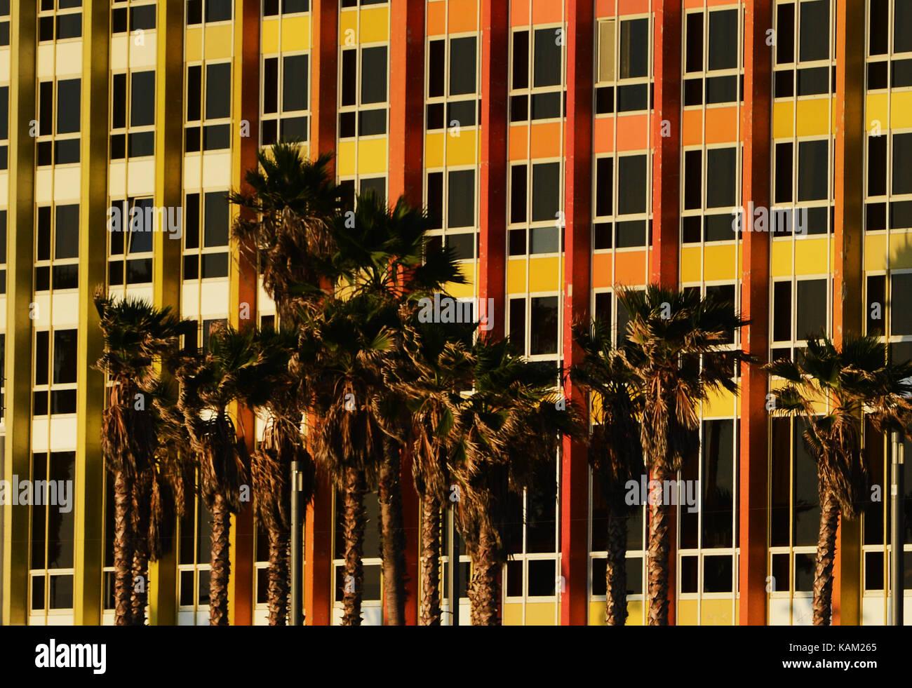 Dan Hotel in Tel Aviv, Israel. - Stock Image