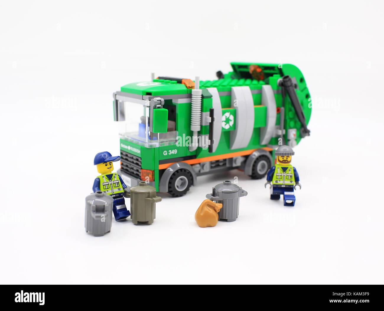 lego city cleaner - Stock Image