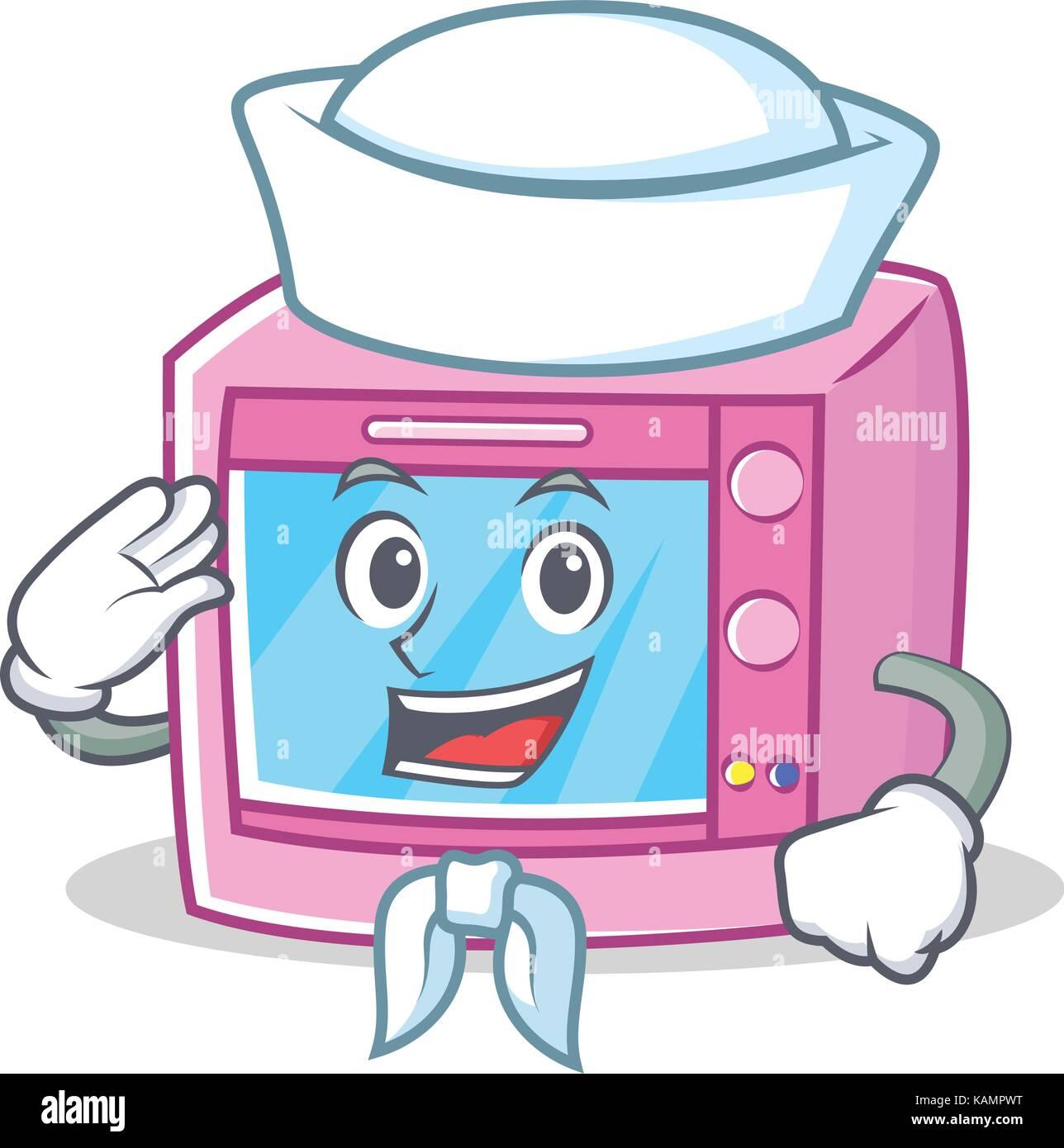 illustration isolated microwave oven cartoon stock photos
