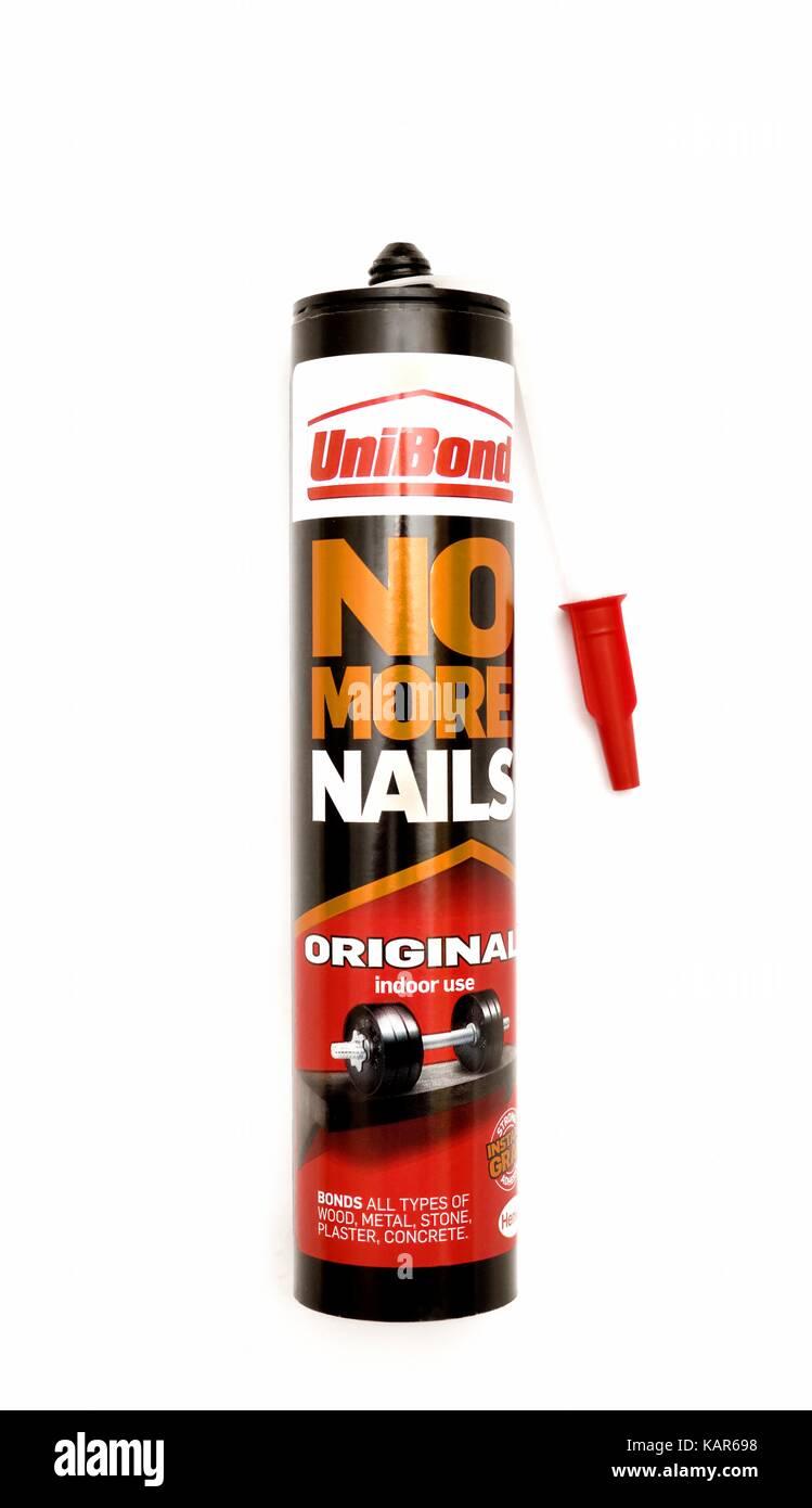 Unibond No more nails original - Stock Image