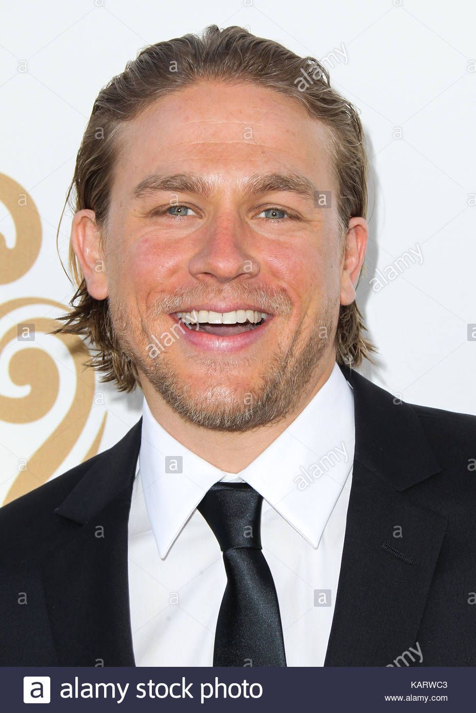 Charlie Hunnam. 12th Annual Huading Film Awards held at the Montalban Theatre on June 1, 2014 in Hollywood, California. Stock Photo