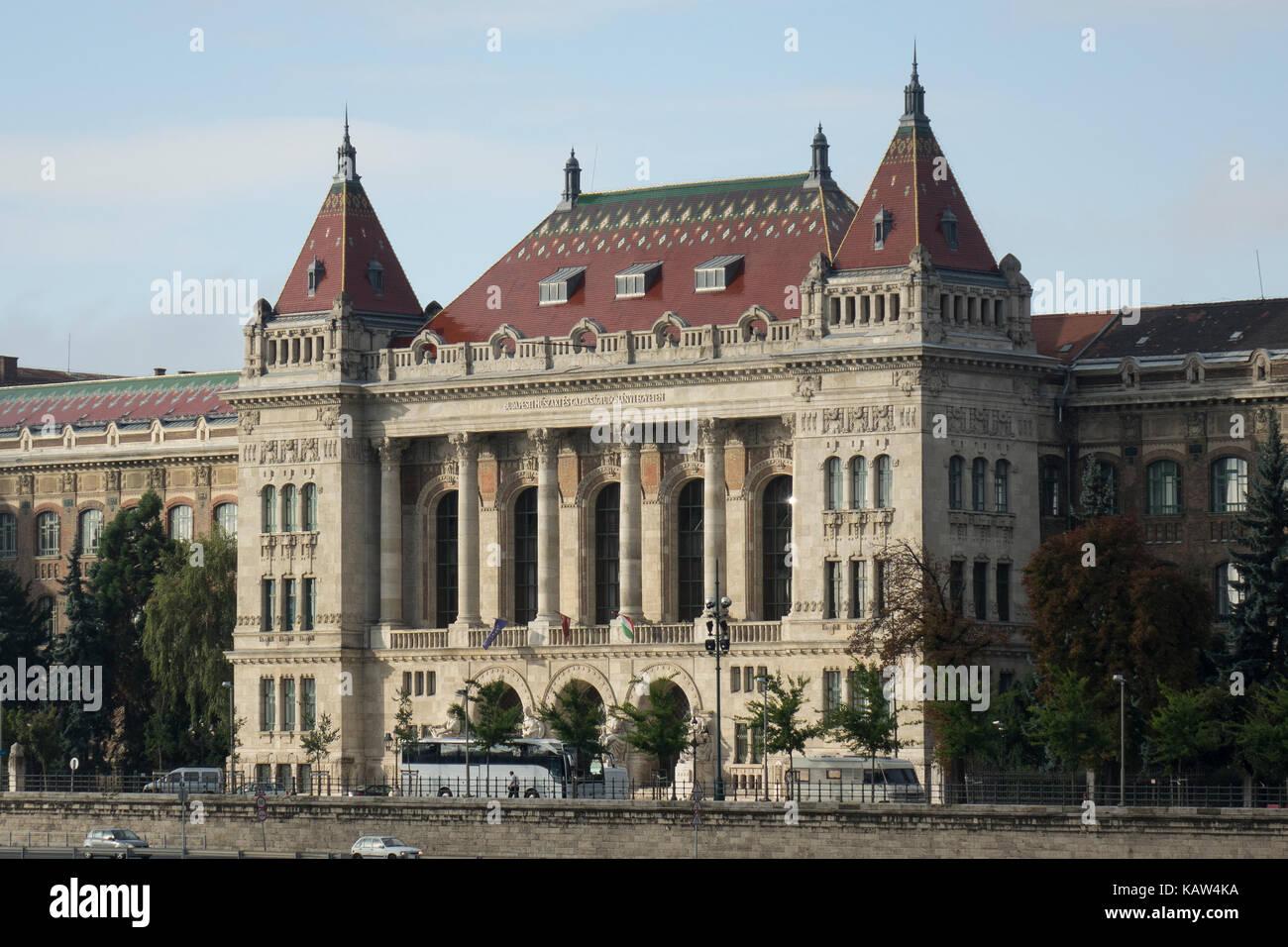 Hungary, Budapest, University of Technology & Economics+ - Stock Image