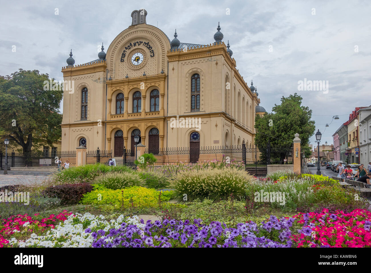Hungary, Pecs, Synagogue - Stock Image