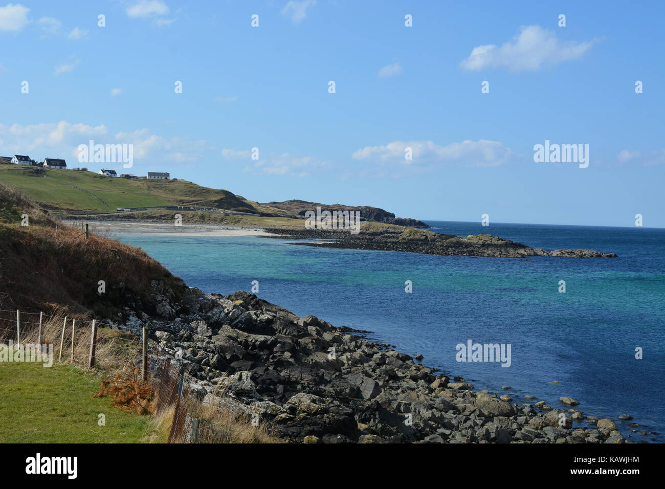 Scourie Bay - Stock Image