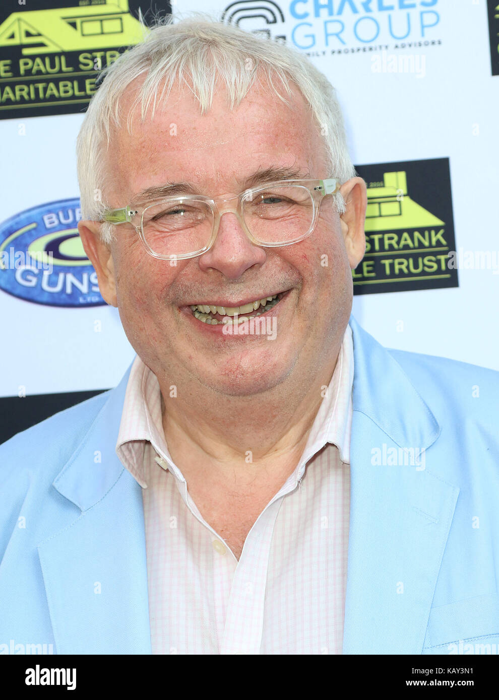 Jul 05, 2017 - Christopher Biggins attending Paul Strank Charitable Trust Summer Party, Mint Leaf, Piccadilly in - Stock Image