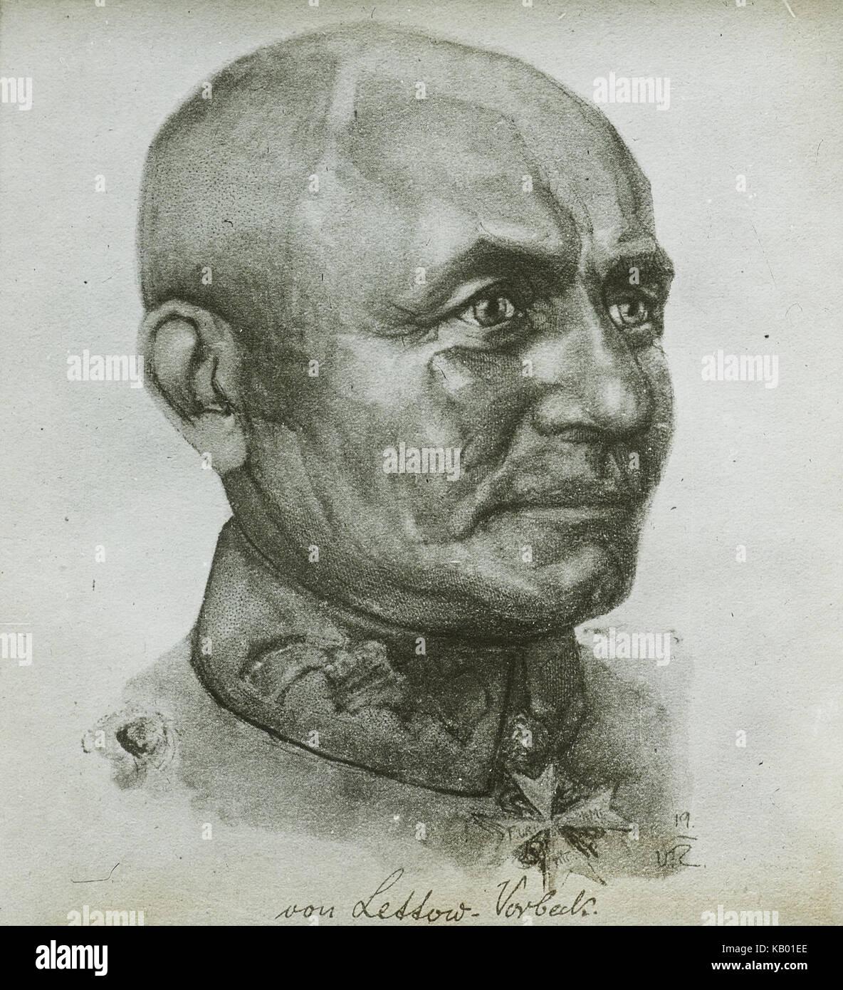 Von Lettow Vorbeck, ca. 1914 1924 (IMP CSWC47 LS13 3) - Stock Image