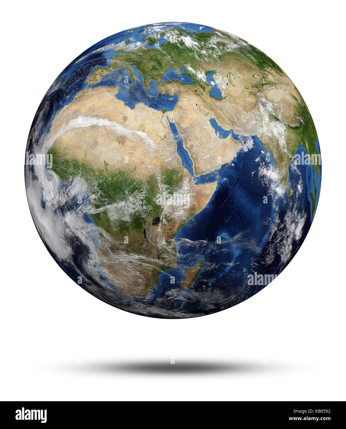 earth globe 3d rendering maps courtesy of nasa