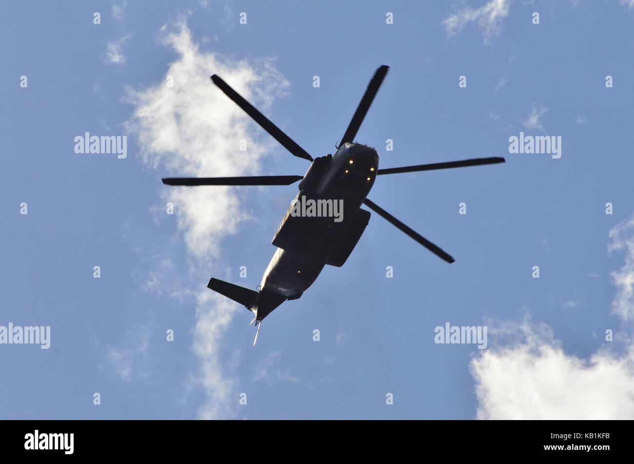 Germany, Berlin, ILA 2012, air display, military helicopter, - Stock Image