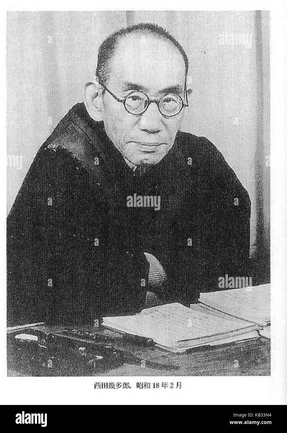 Kitaro Nishida, one of the most notable Japanese philosophers - Stock Image