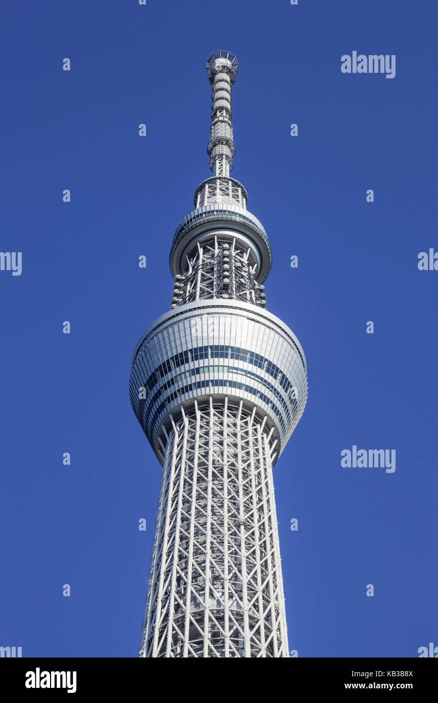 Japan, Honshu, Tokyo, Asakusa, Skytree Tower, Stock Photo