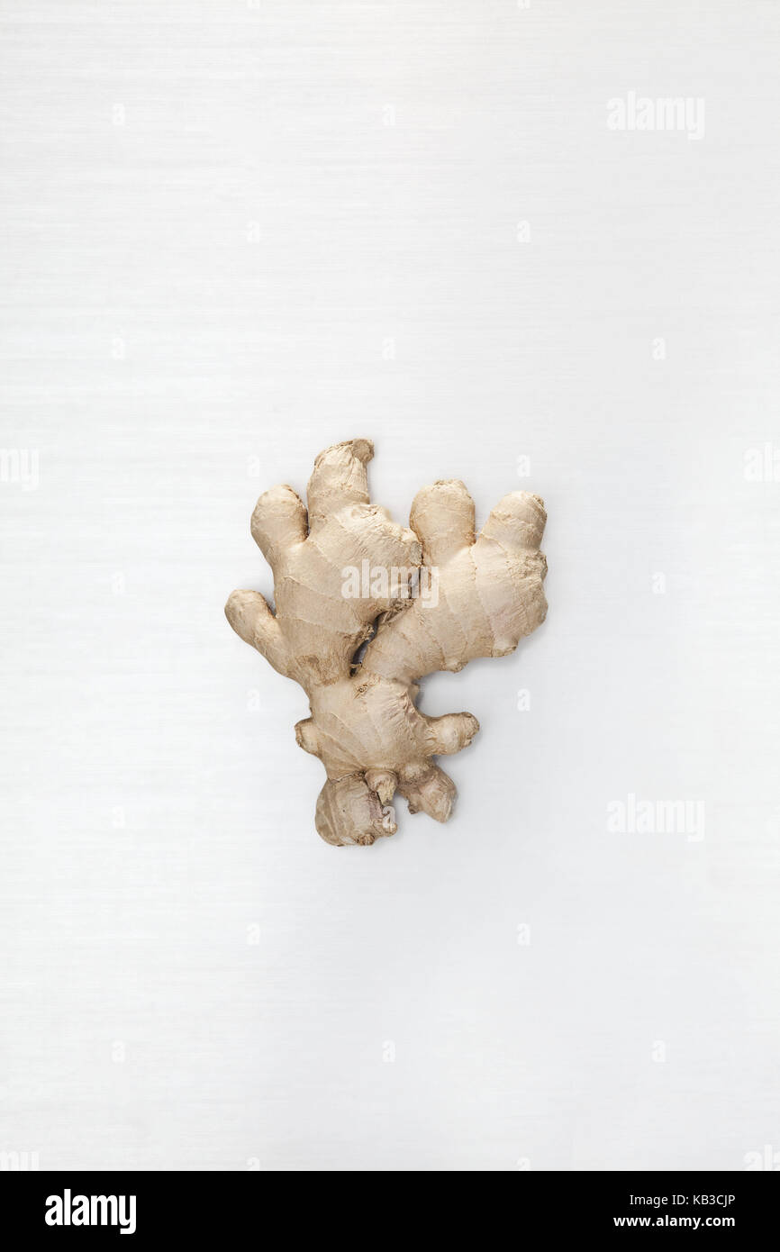 Ginger root, background white, gingers, root, nodule, ginger nodule, health, sharply, ingredient, food, ginger root, - Stock Image