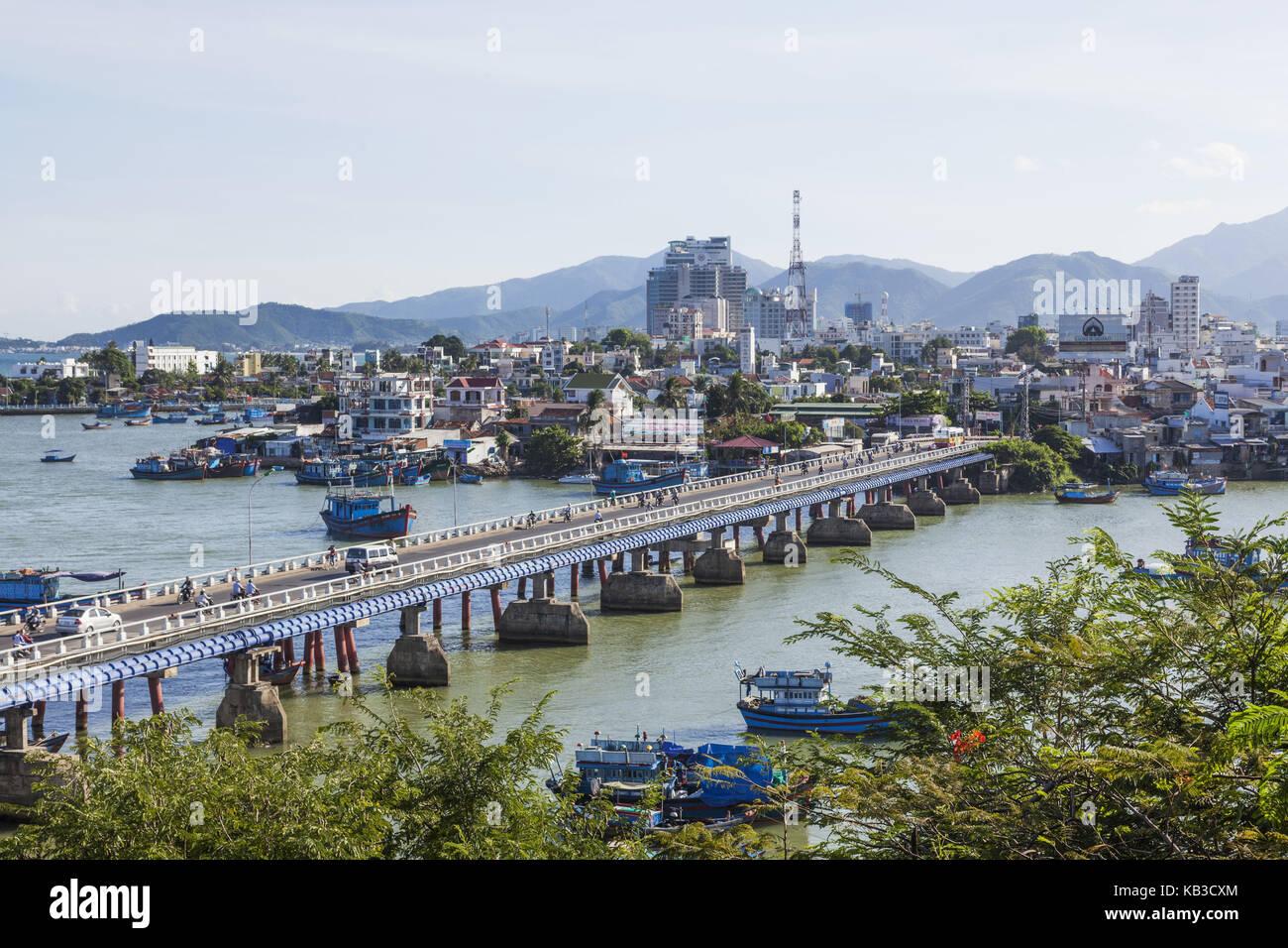 Vietnam, Nha Trang, townscape, - Stock Image
