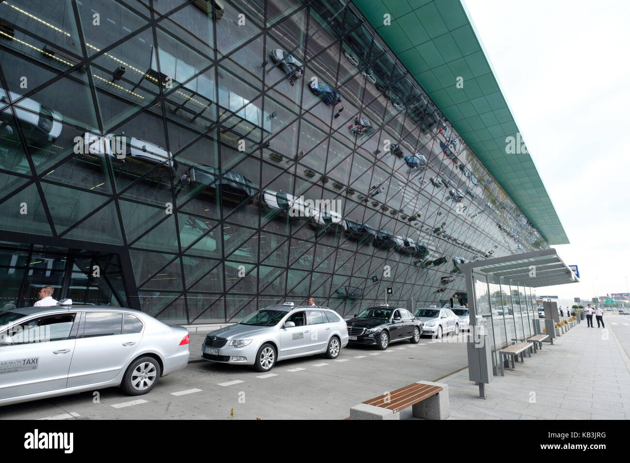 John Paul II International Airport Kraków–Balice, Krakow, Poland, Europe - Stock Image